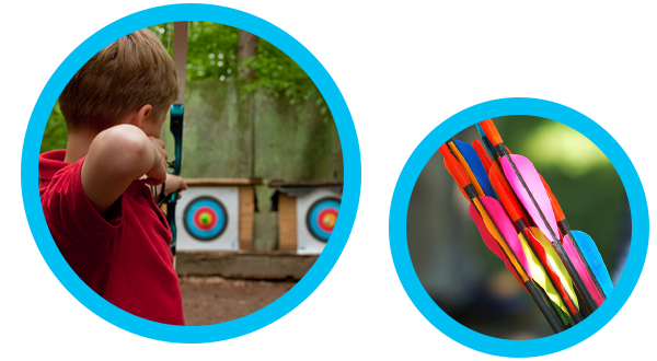Archery at Forest of Dean Adventure